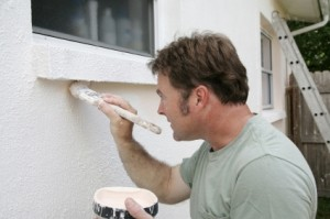 Volunteering can be as easy as helping an older or disabled person paint their house.