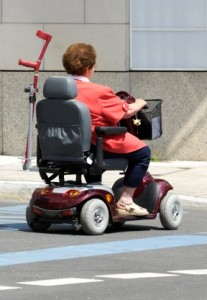 Mobility scooters provide a great way for those who have limitations to get around.
