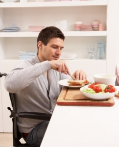 For those in wheelchairs, a reacher can provide flexibility in difficult areas like the kitchen