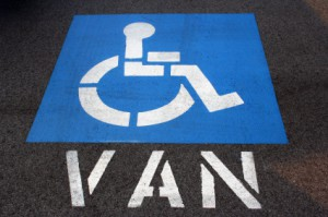 Handicap Van Parking in California