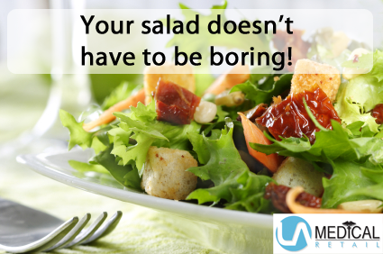 Salad topping ideas from LA Medical.