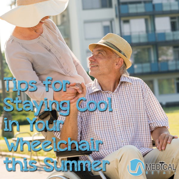 Summer wheelchair tips