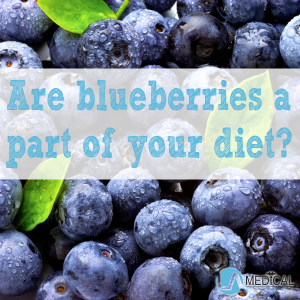 Make blueberries part of your diet.