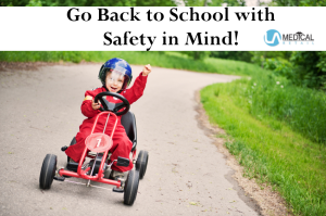 Keep safety in mind as a new school year begins.