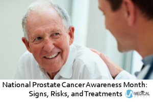 Gain a better understanding of prostate cancer this month.