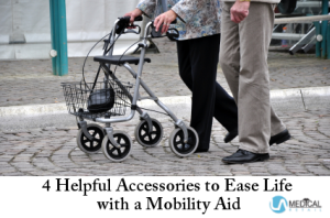Experience a more convenient daily life with accessories for any mobility aid.