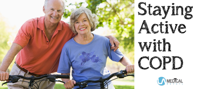 One of the best ways to treat your COPD is staying active.