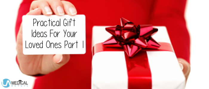 Older people can be hard to shop for but practical gifts go a long way.