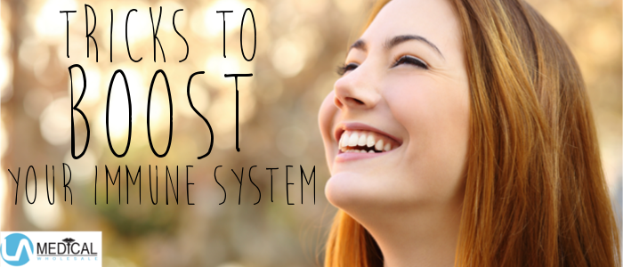The best way to treat illness is to stop it before it starts. You can do this by building up a strong immune system.