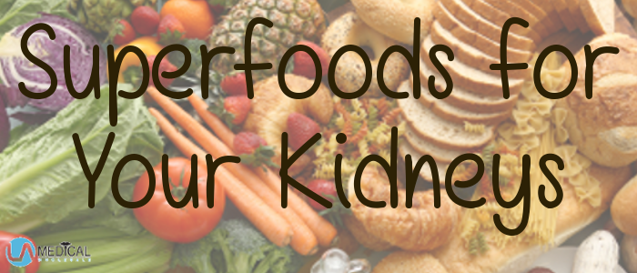 March is National Kidney Month. Do your kidneys a favor and fill up on these superfoods.