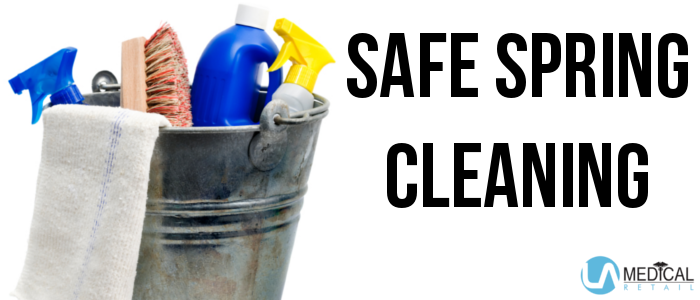 If you are getting ready to deep clean your home, we have solutions to keep you safe.
